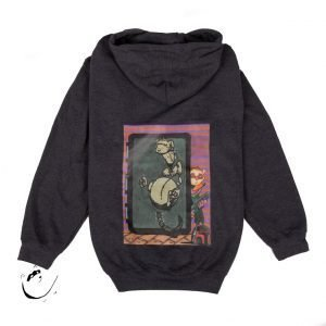 "Men's XL Hoodie with ""Boba Ferret"" design (size XL)"
