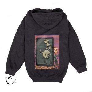 "Men's XL Hoodie with ""Boba Ferret"" design (size XL)"