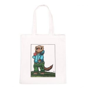 Large tote bag with 'Crash Bang' design